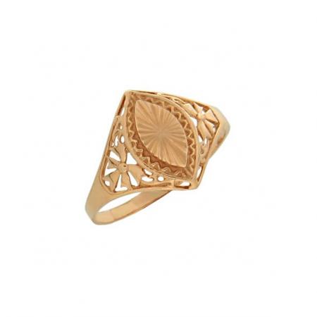 Кольцо из русского золота с камнями
