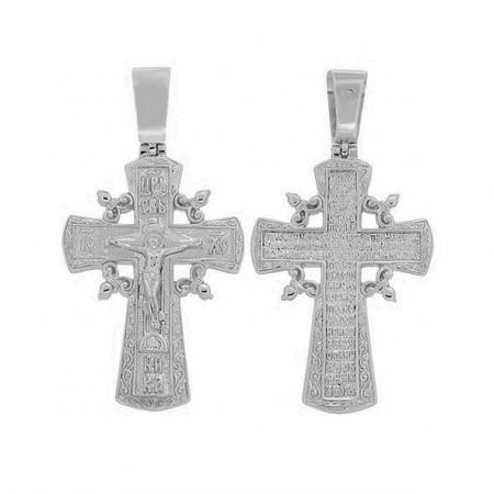 Крест нательный сребряный