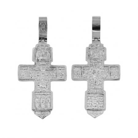 Крест нательный из серебра 925