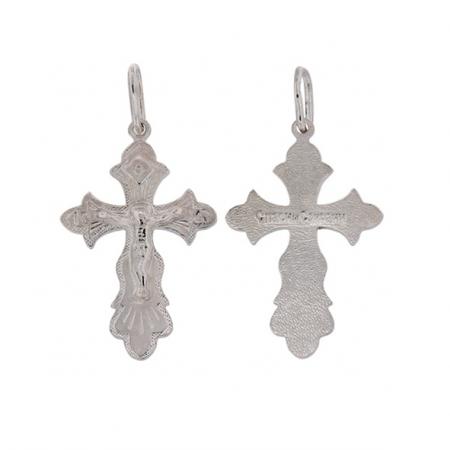 Kreuzanhänger, Silber