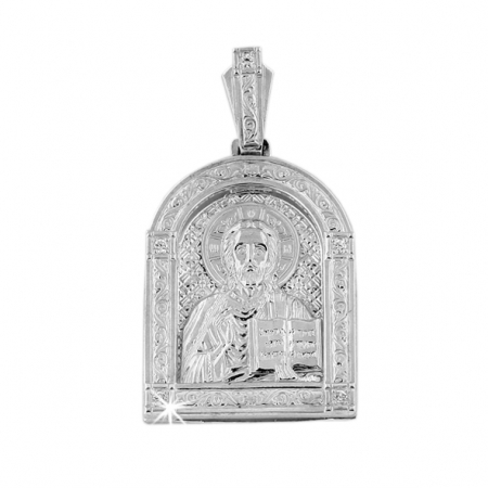 Ладанка из Серебра 925, Иисус Христос
