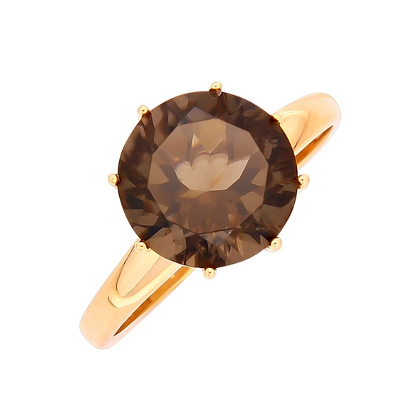 Ring in Rotgold 585