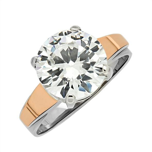 Женское кольцо из серебра