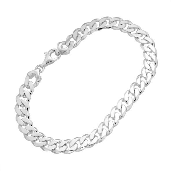 Armband, Panzerketten aus Silber 925,