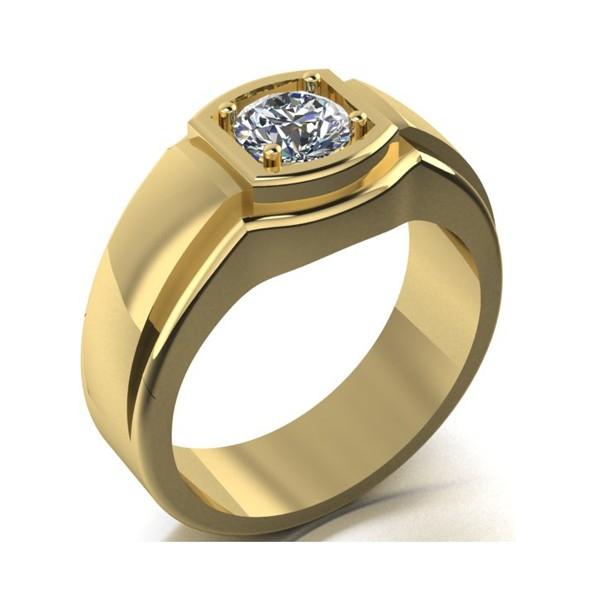 Herrenring Siegelring aus Gold