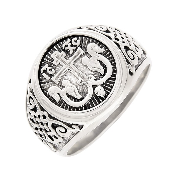 Herrenring Siegelring aus 925er Silber