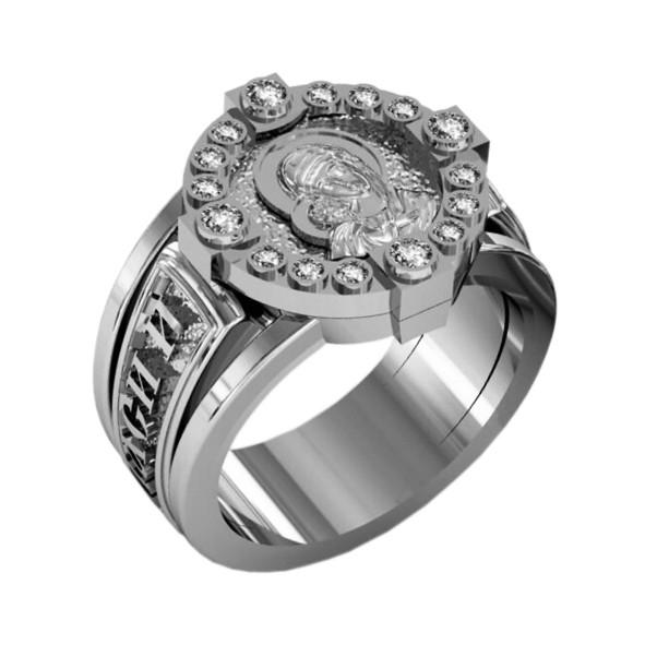 """Охранное кольцо, """"Спаси и сохрани"""""""