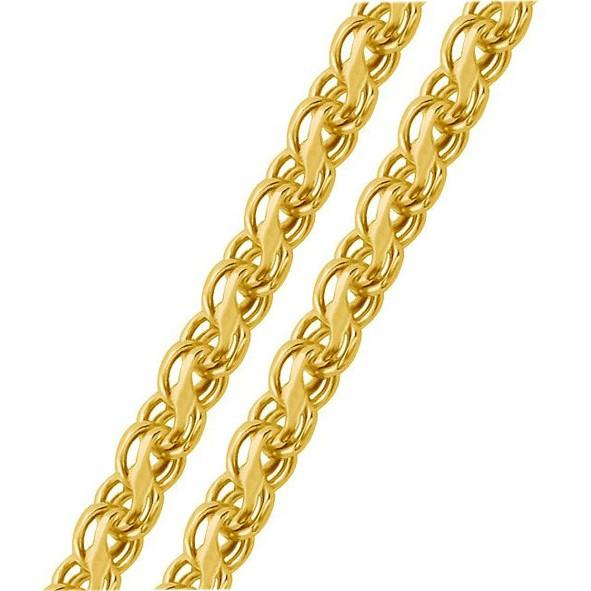 Rinnsal kette aus Gold Handarbeit