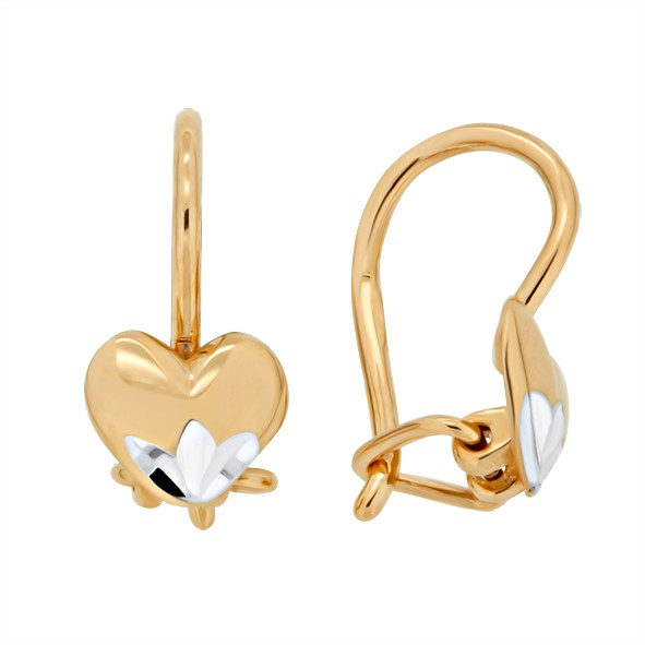 Ohrringe aus Gold