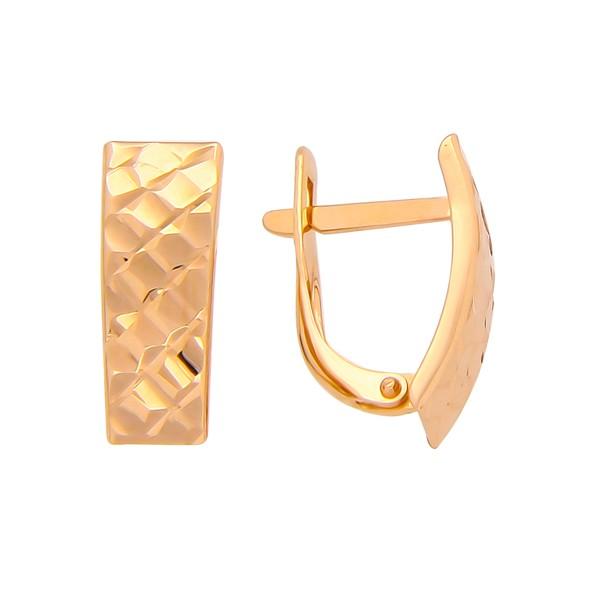 Ohrringe aus Rotgold 585
