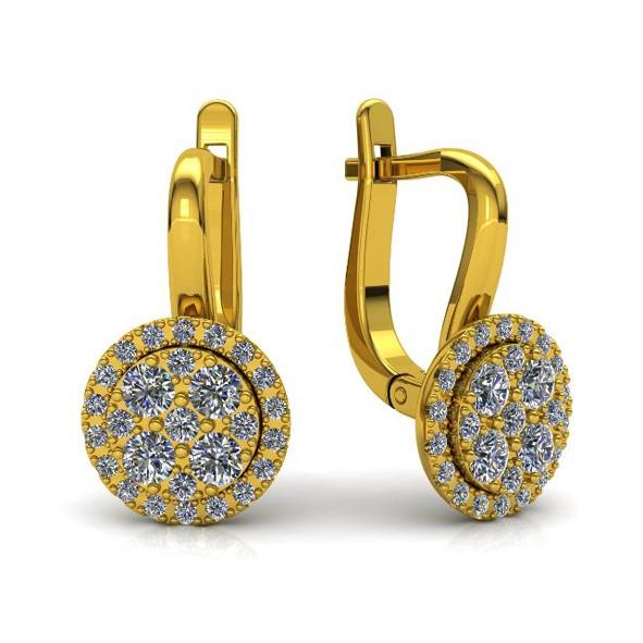Ohrringe mit Brllianten