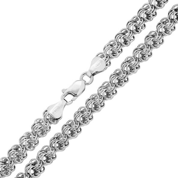 Damen Rosenkette aus Silber