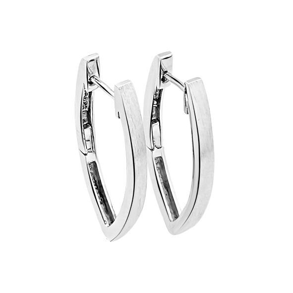 Ohrringe Kreolen in Silber 925