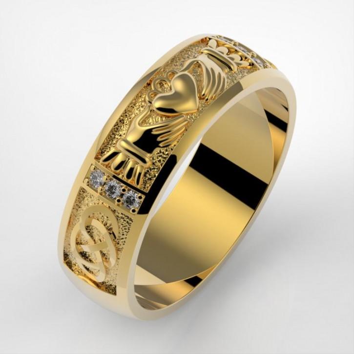 Hochzeitsringe, Trauring aus Gold