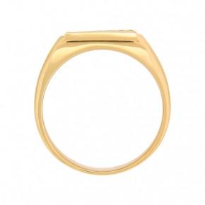 Мужское кольцо 24(75) / Жёлтое золото / 375